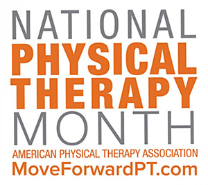 National Physical Therapy Month Logo