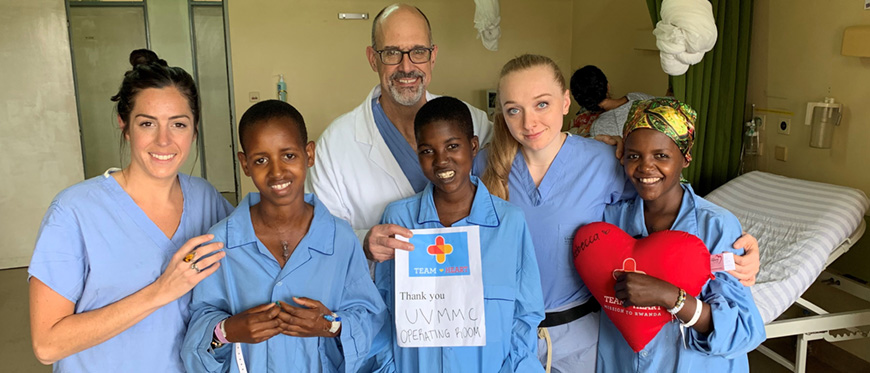 UVM Medical Center volunteers in Rwanda