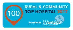 Top Rural & Community Hospital 2017 logo