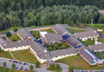 Woodridge Rehabilitation and Nursing Aerial View