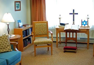 Woodridge Rehabilitation and Nursing Chapel