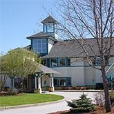 Exterior of Woodridge Rehabilitation and Nursing