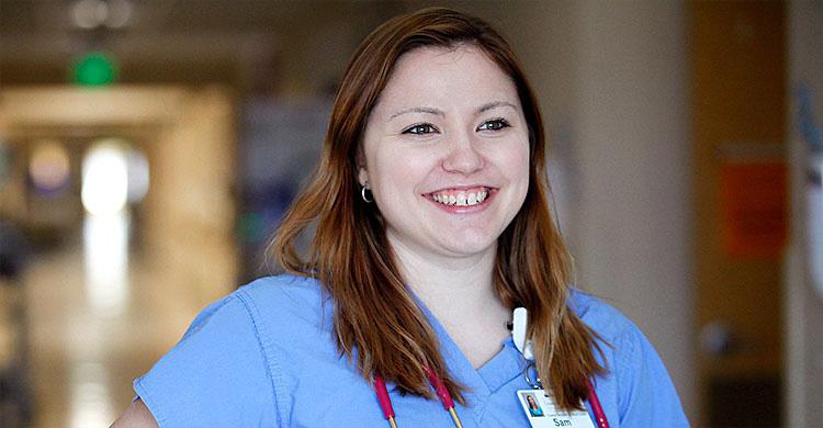 CVMC Nurse Sam Allair, RN