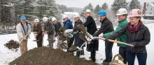 Groundbreaking for New Green Mountain Family Practice Building